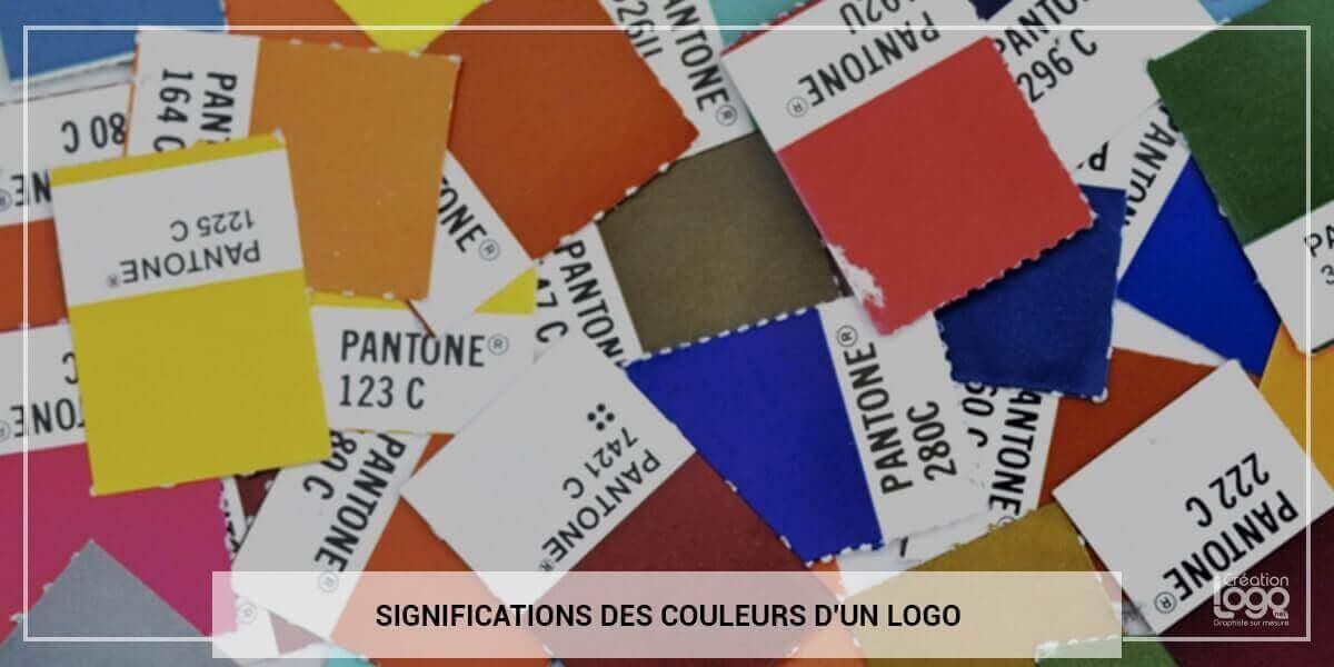 Significations des couleurs d'un logo
