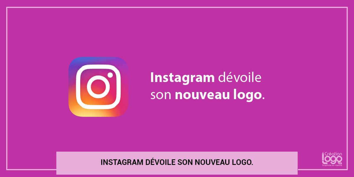 Instagram dévoile son nouveau logo.