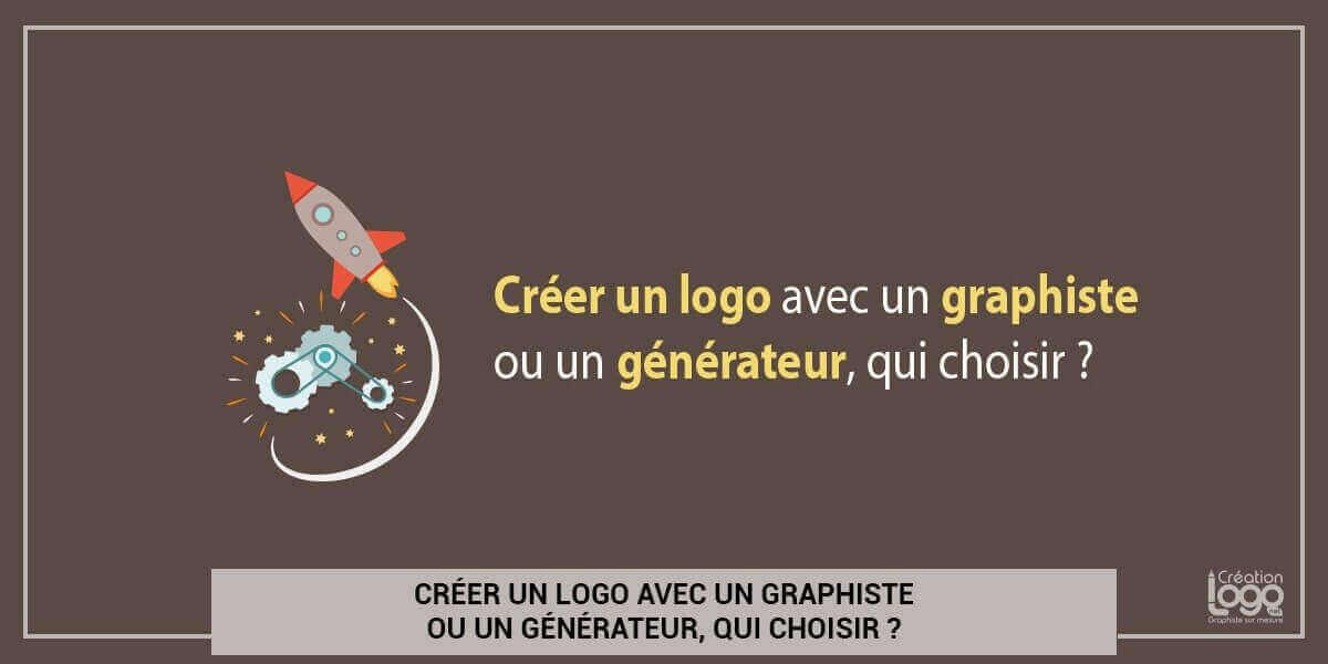Créer un logo avec un graphiste ou un générateur, qui choisir ?
