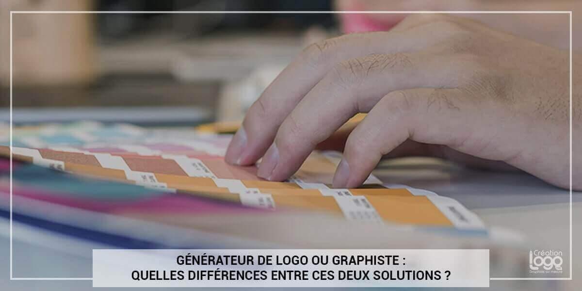 Générateur de logo ou graphiste : quelles différences entre ces deux solutions ?