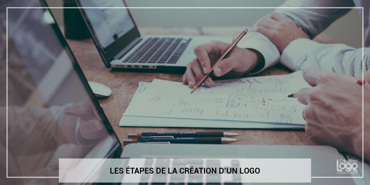 Les étapes de la création d'un logo