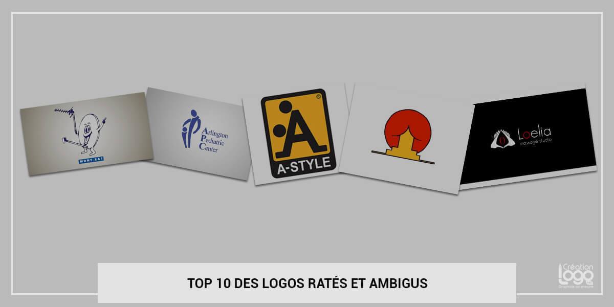 Top 10 des logos ratés et ambigus