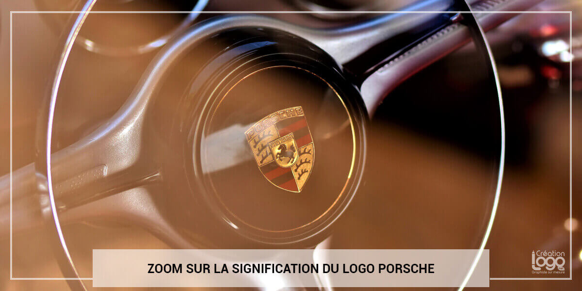 Explications du logo Porsche