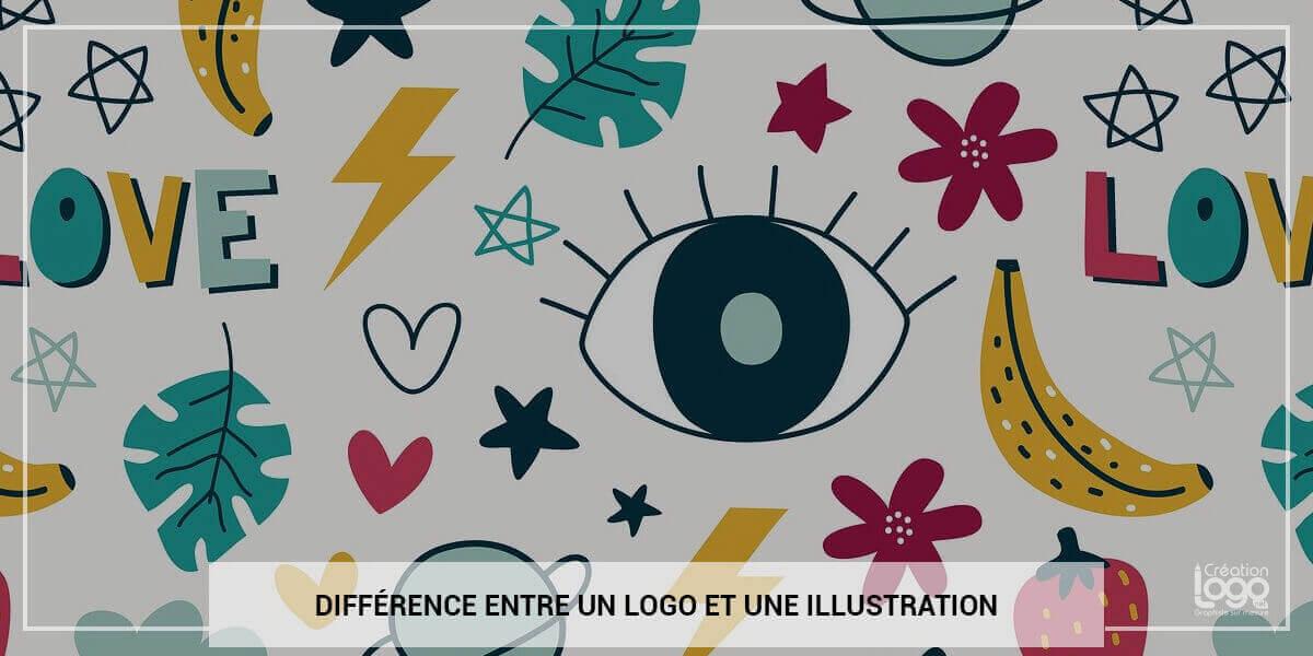 Quelle est la différence entre un logo et une illustration ?
