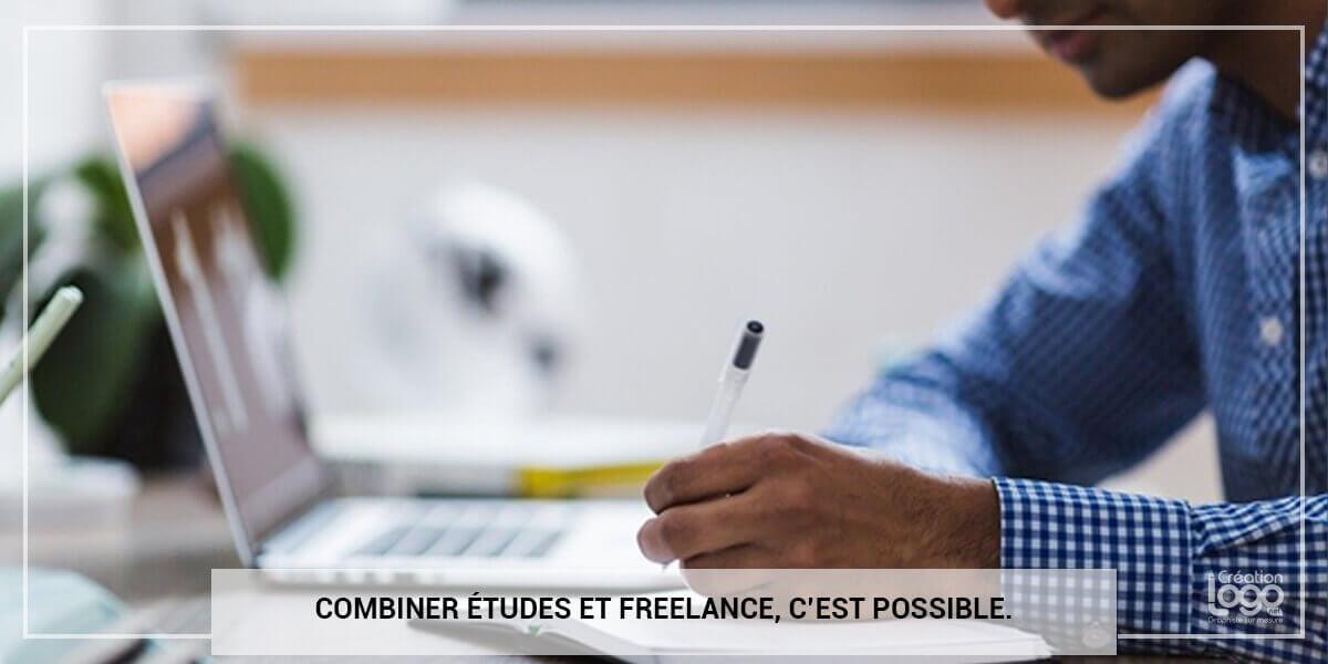 Combiner études et freelance, c'est possible.