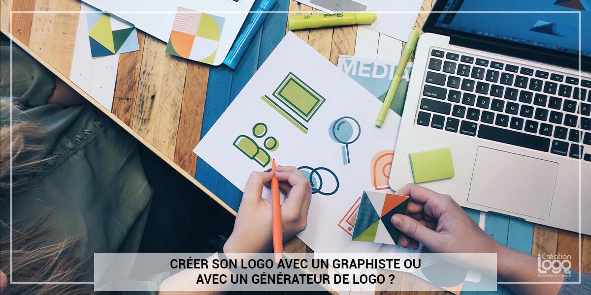 Créer son logo avec un graphiste ou avec un générateur de logo ?