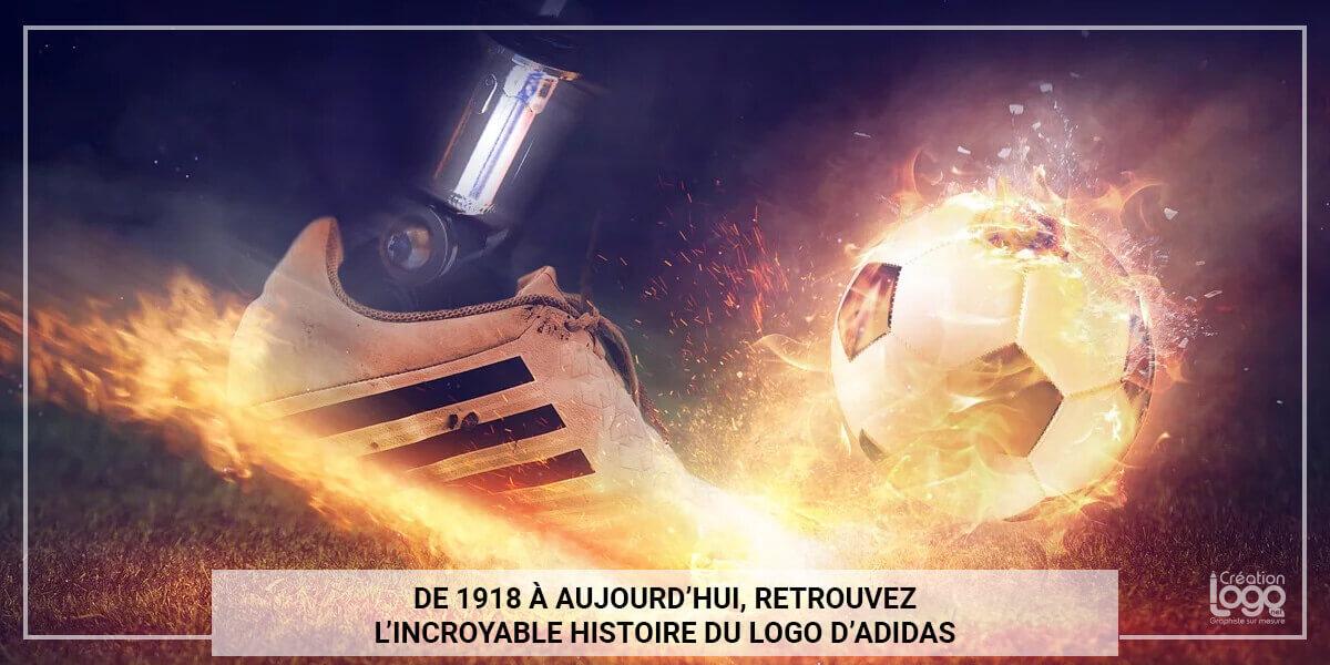 De 1918 à aujourd'hui, retrouvez l'incroyable histoire du logo d'Adidas