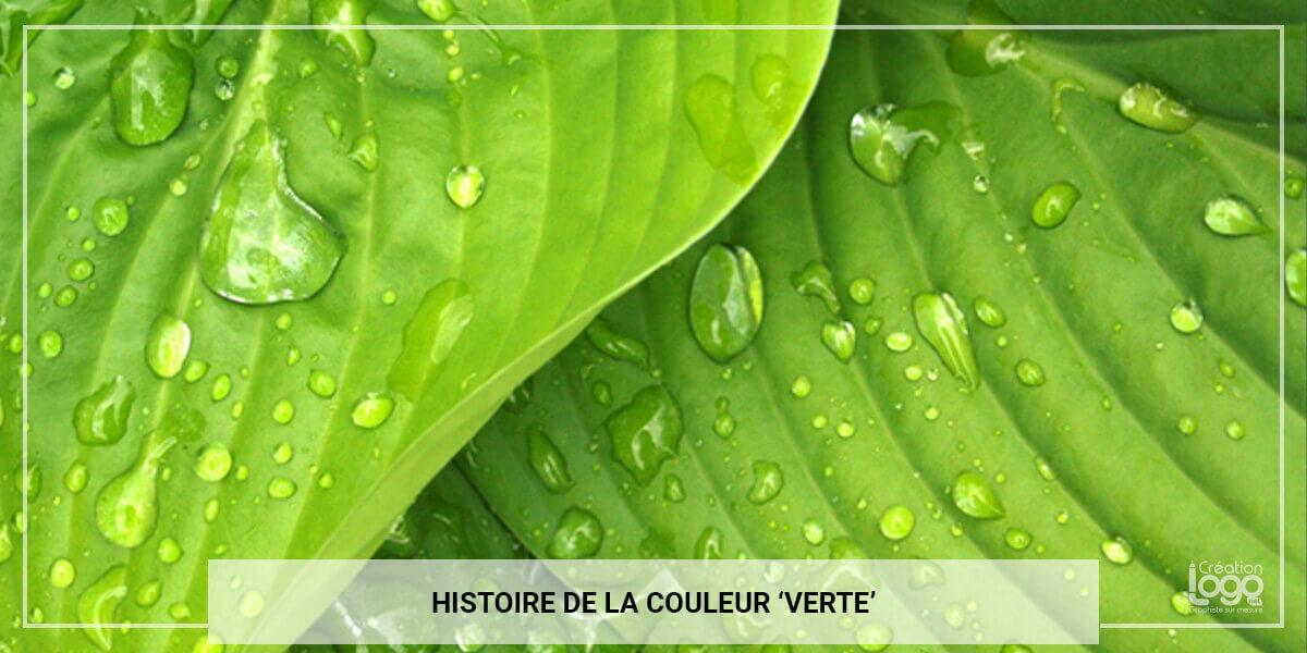 Histoire de la couleur Verte