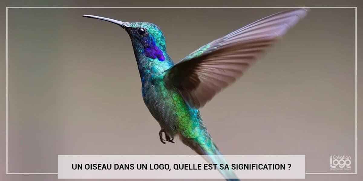 Un oiseau dans un logo, quelle est sa signification ?