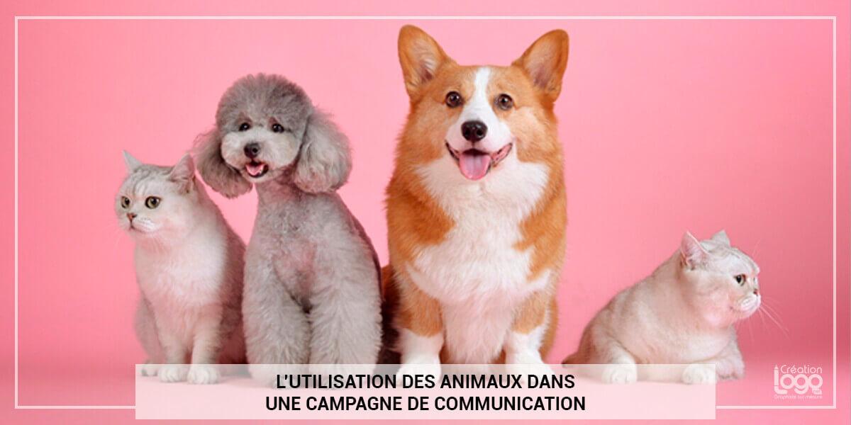 L'utilisation des animaux dans une campagne de communication