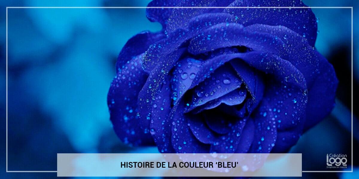 Histoire de la couleur 'Bleu'