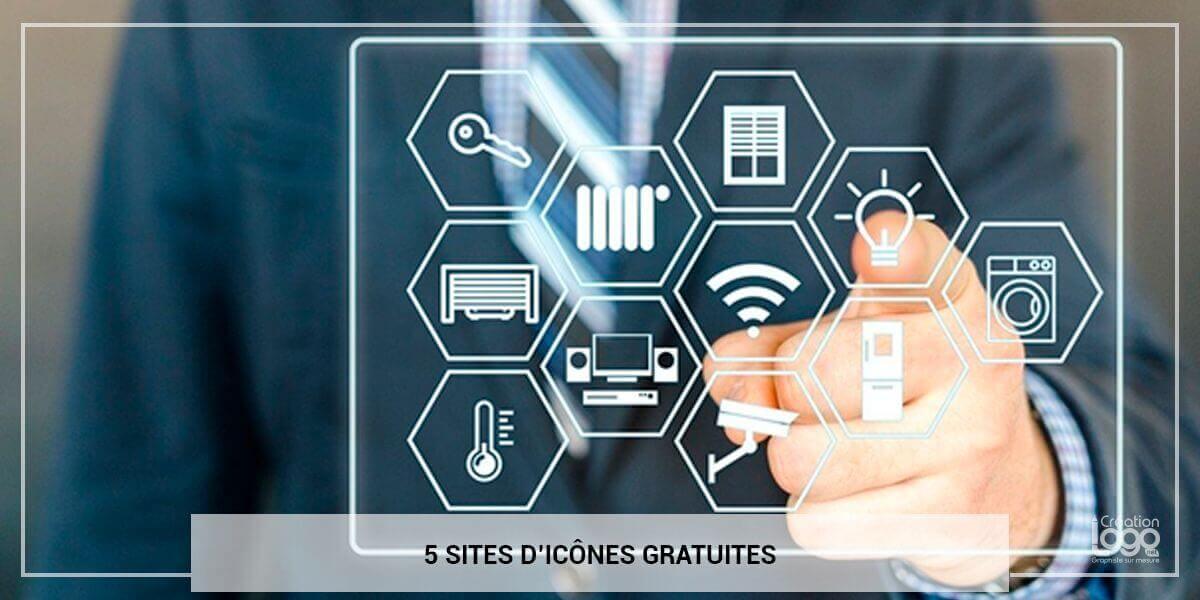 5 sites d'icônes gratuites