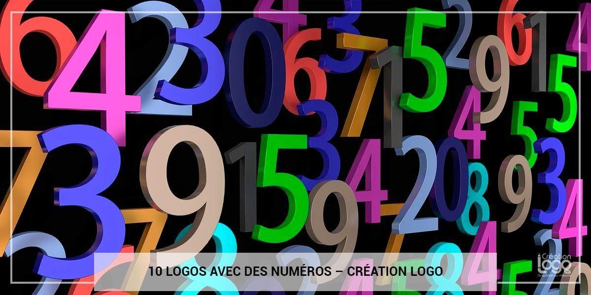 10 logos qui contiennent des numéros dans leur design.