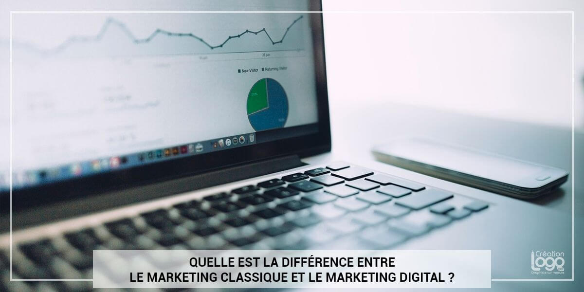 Quelle est la différence entre le marketing classique et le marketing digital ?