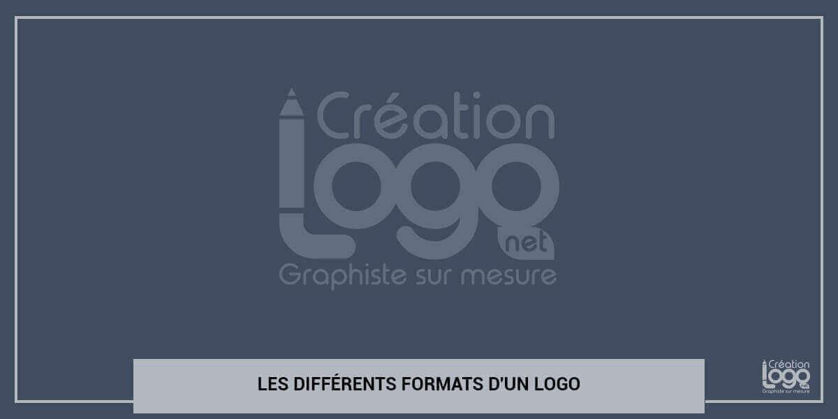 Les différents formats d'un logo